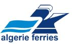 Klik på logoet, for at gå til den officielle Algerie Ferries hjemmeside.