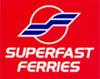 Klik p� logoet, for at g� til den officielle Superfast Ferries hjemmeside.